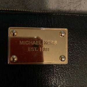 Michael Korrs Black Leather Wallet
